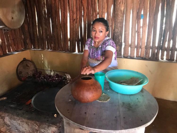 Mayan village Yucatan Peninsula