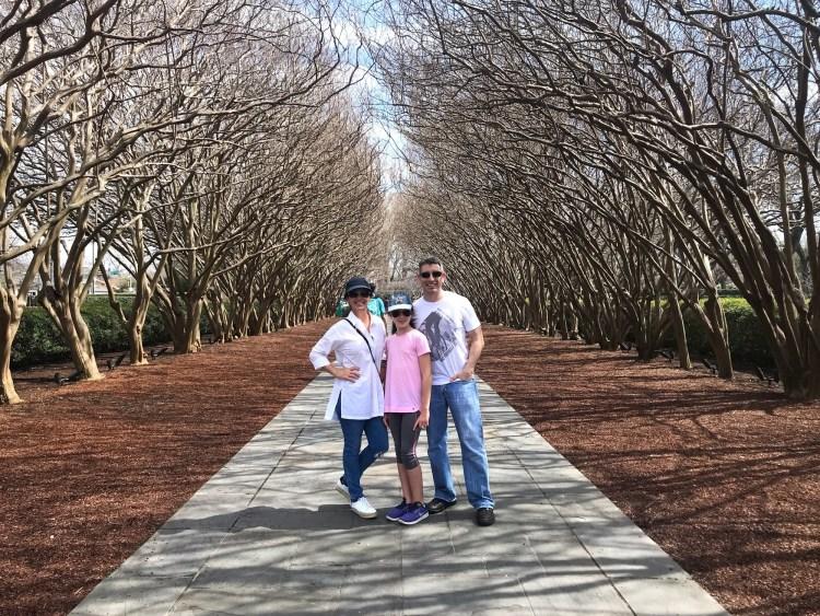 Dallas Arboretum - Crape Myrtle Allee