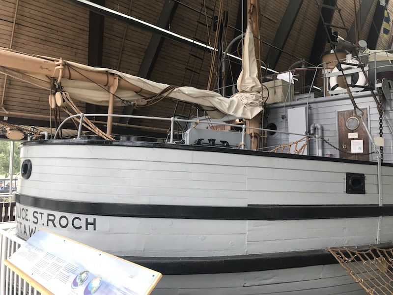 Roch ship at Maritime Museum in Vancouver