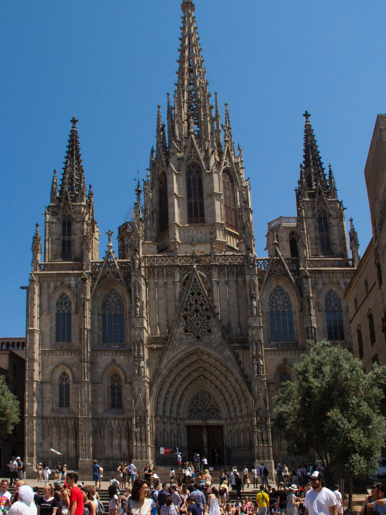Three days in Barcelona: Catedral de Barcelona