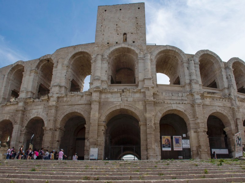 Beautiful towns in the South of France - Arles Amphitheatre