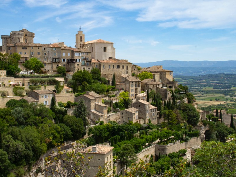 Beautiful towns in the South of France: Gordes