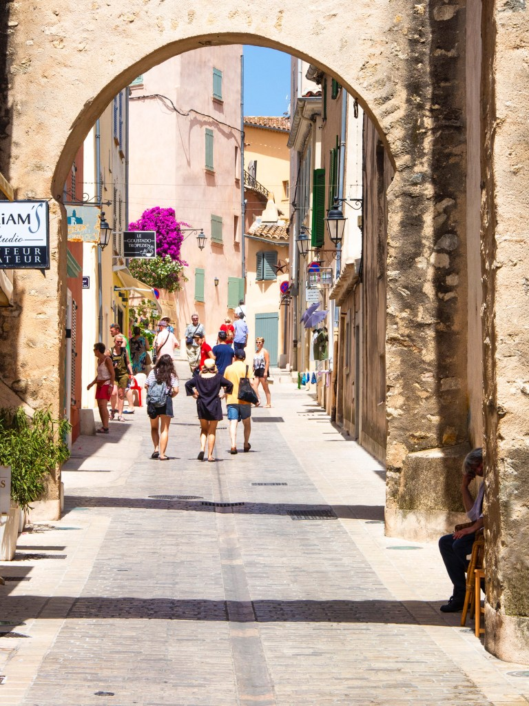 Beautiful towns in the South of France: Saint Tropez