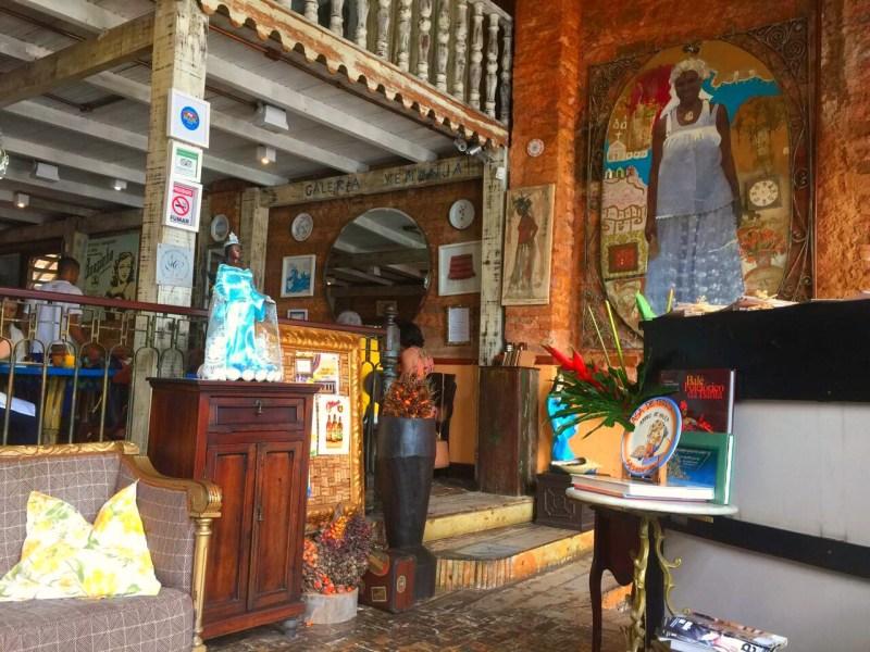 Places to eat in Salvador, Brazil - Casa de Tereza