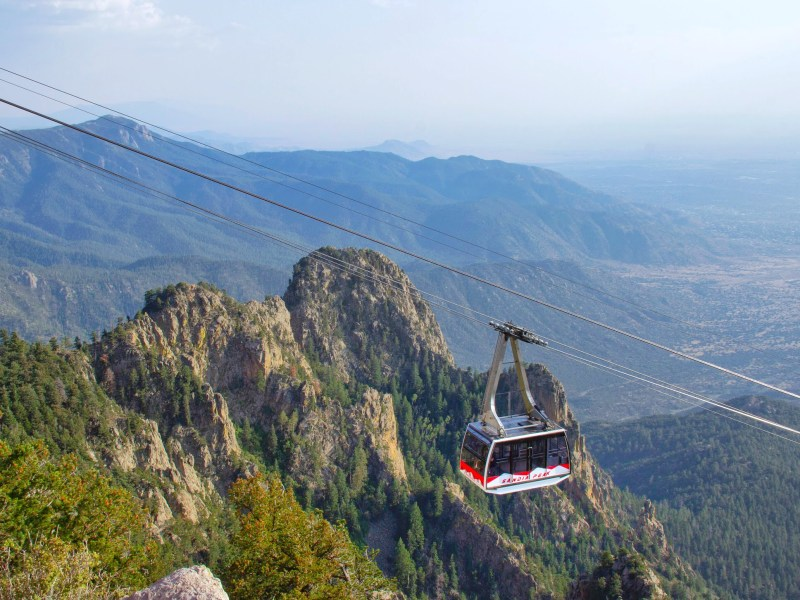 Sandia Peak Tramway in New Mexico