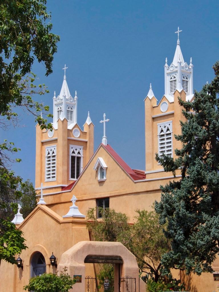 San Felipe Church in New Mexico