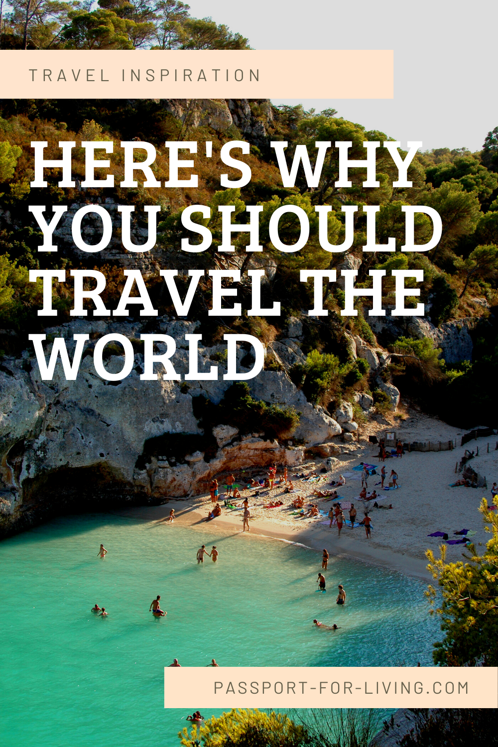 Here's Why You Should Travel the World #travel #wanderlust #europe #africa #asia #usa #travelblogger #travelguide #travelinspiration #traveller #traveler #travelmore #globetrotter #destinations #amazingplaces