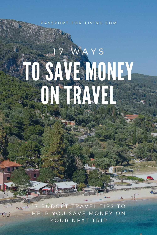 17 Ways to Save Money on Travel