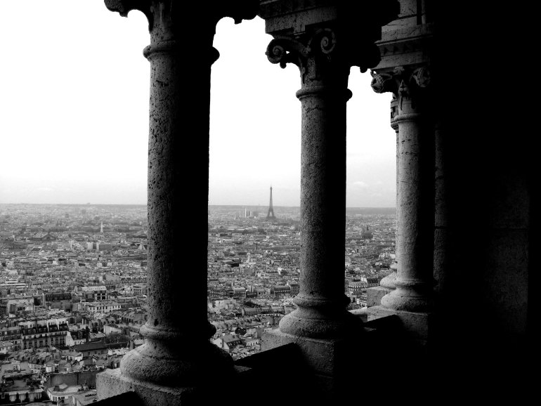 16 Cool Things to Do in Paris - View of the Eiffel Tower from Sacre Coeur, Montmartre