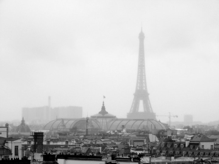 16 Cool Things to Do in Paris - Eiffel Tower in the mist, Paris
