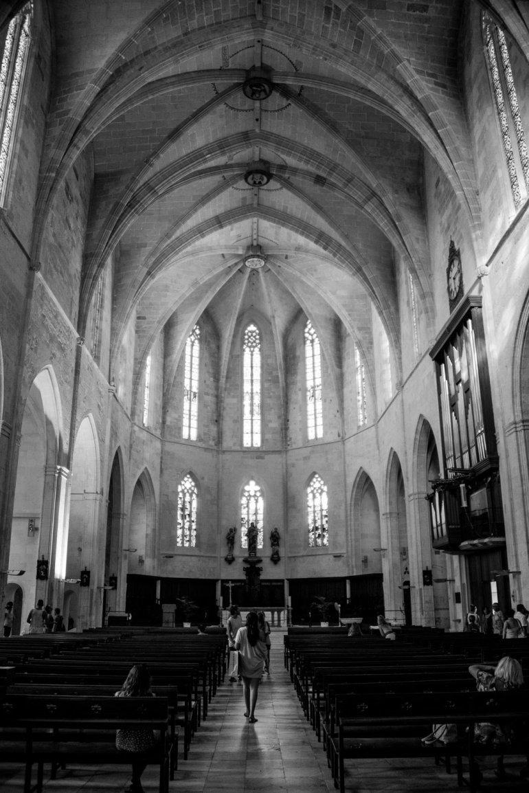 Inside Ciutadella Menorca Catherdral