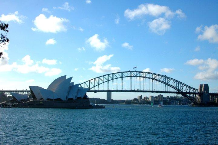 17 Easy Ways to Save Money on Travel - Sydney Harbour Bridge and Opera House