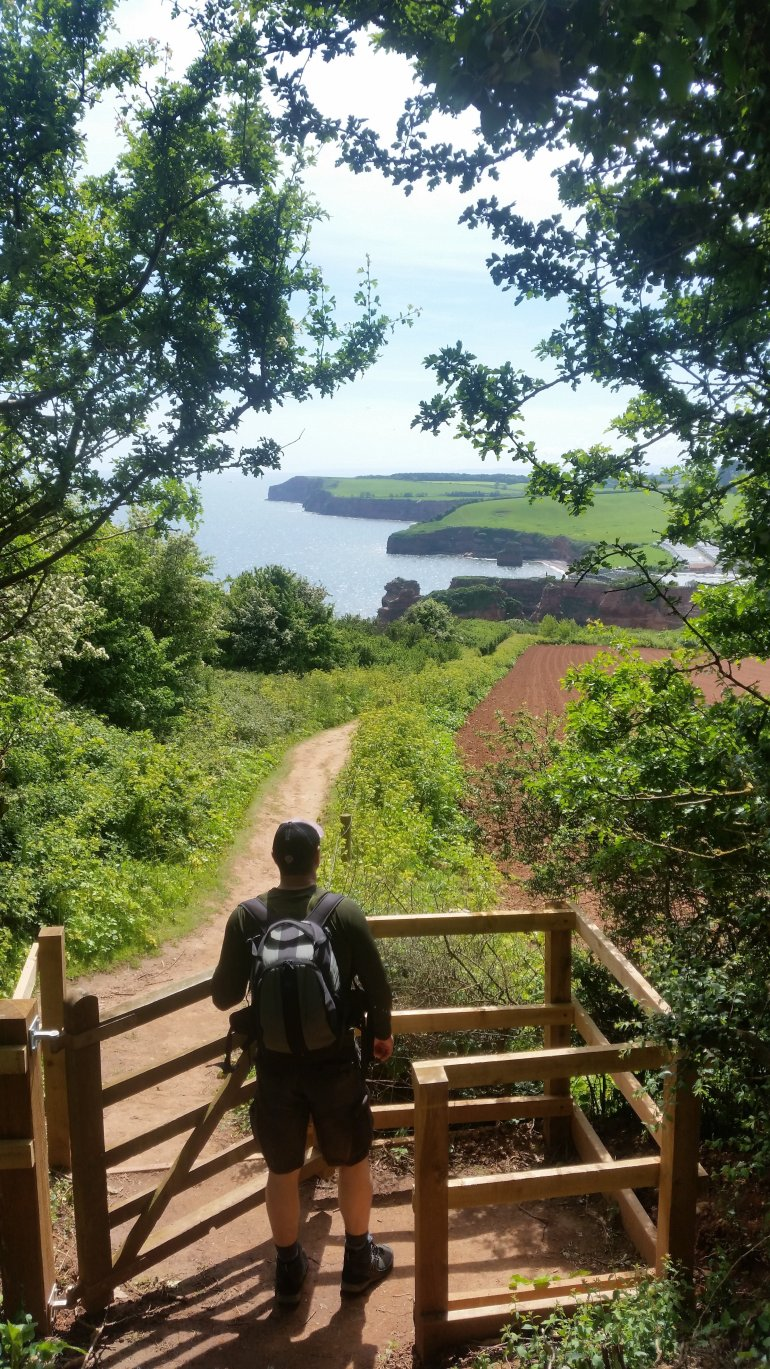 Hiking on the Jurassic Coast, South West Coast Path