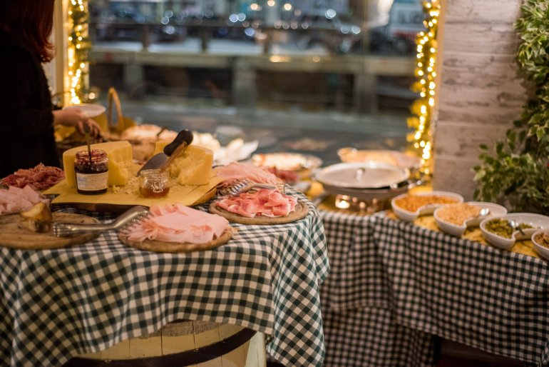 Aperitivo Buffet - Travel Notes on Milan, Italy