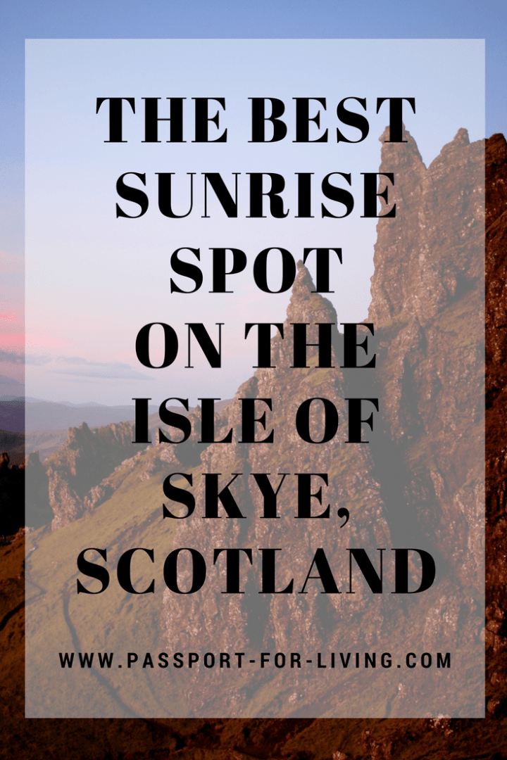The Best Sunrise Spot on the Isle of Skye, Scotland _ Hiking _ Mountains _ Travel _ Scotland Travel #scotland #sunrise #travelguide #isleofskye