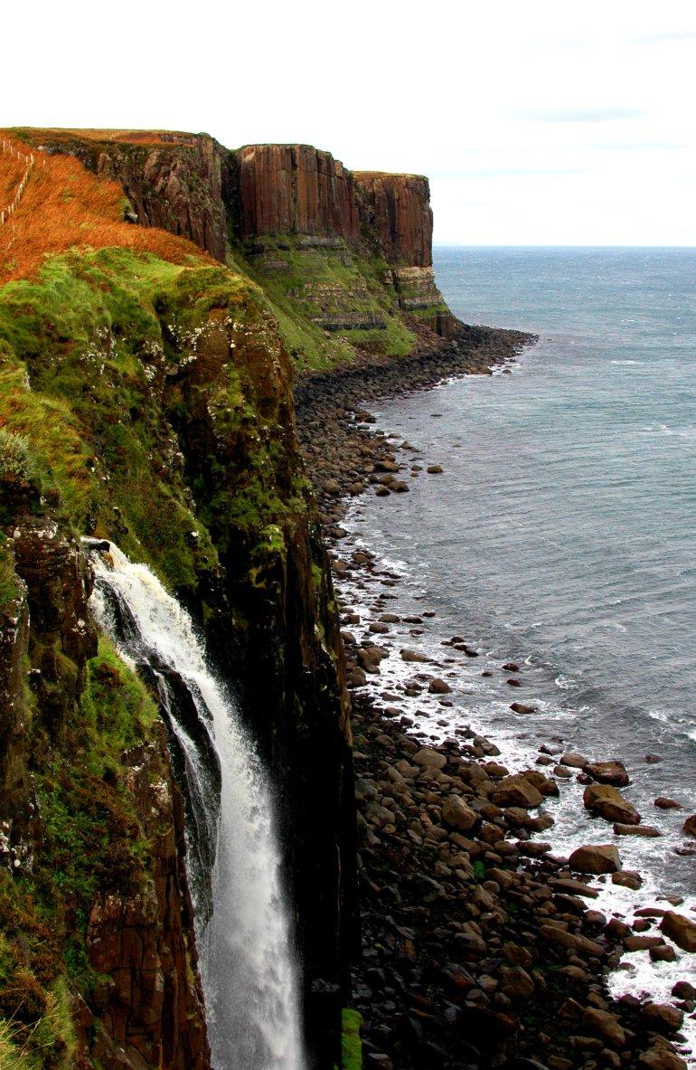 Coastline Isle of Skye Cliffs - 30 Photos of the Isle of Skye to Ignite Your Wanderlust