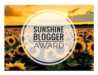 Sunshine Blogger Award 2018 Logo