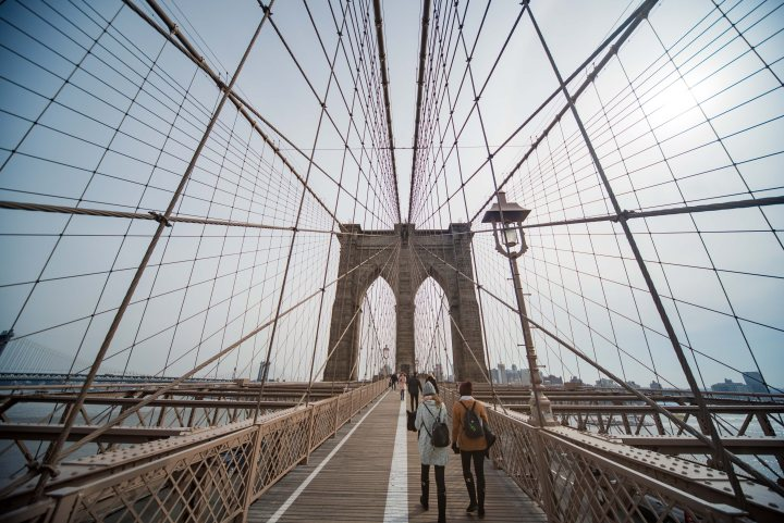 7 Fantastic Places to Eat in New York City - Brooklyn Bridge