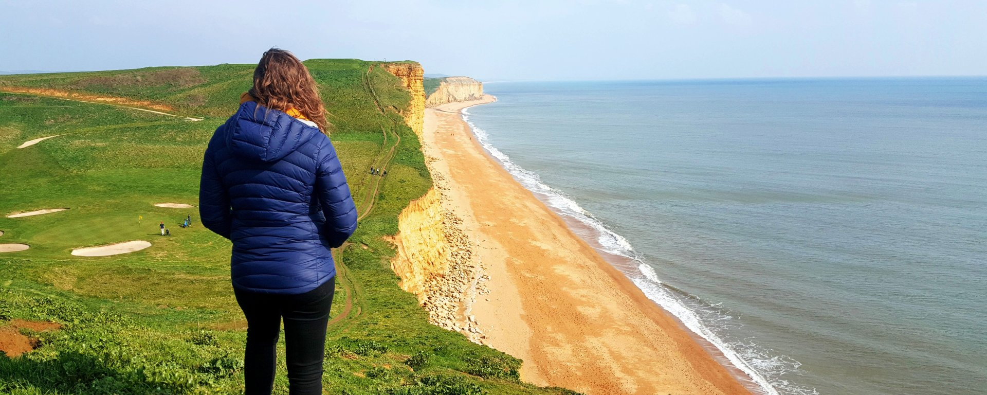 Hiking on the South West Coast Path - West Bay to West Bexington