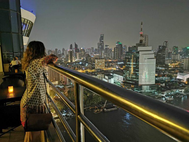 ThreeSixty Rooftop Bar, Millennium Hilton Hotel, Bangkok
