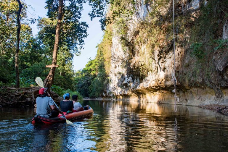 Khao Sok Riverside Cottages Canoe Trip - Things to do in Krabi