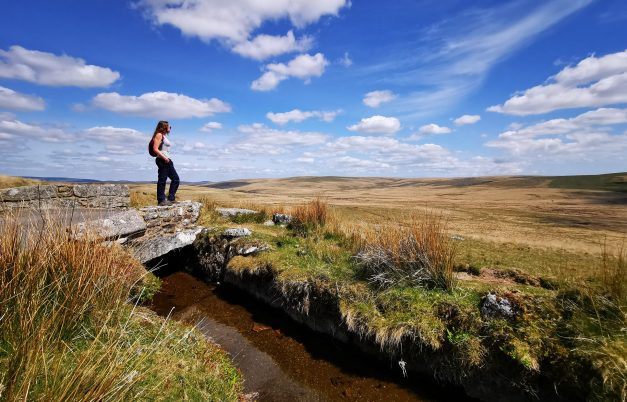 Dartmoor Hiking Trails - Princetown to Fox Tor