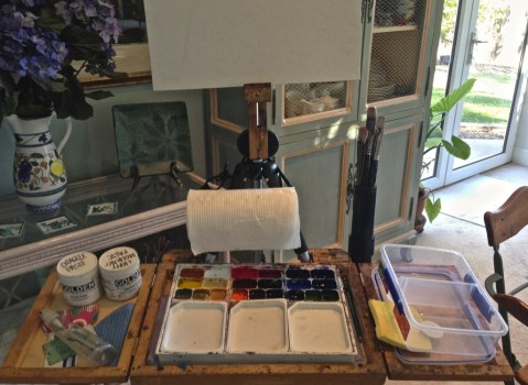 lightweight plein air travel gear and packing tips for artists