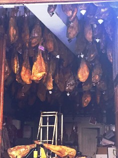 Jamon is a religion in Spain