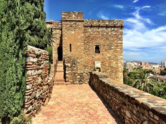 Inside Alcazaba