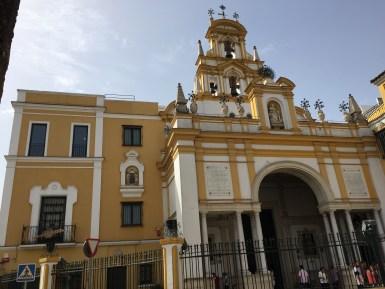 Basilica de La Macarena - heyyyyy Macarena!