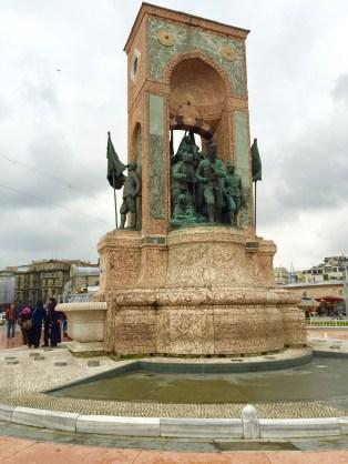 Statue at Taksim Square
