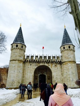 The main entrance to Topkapi
