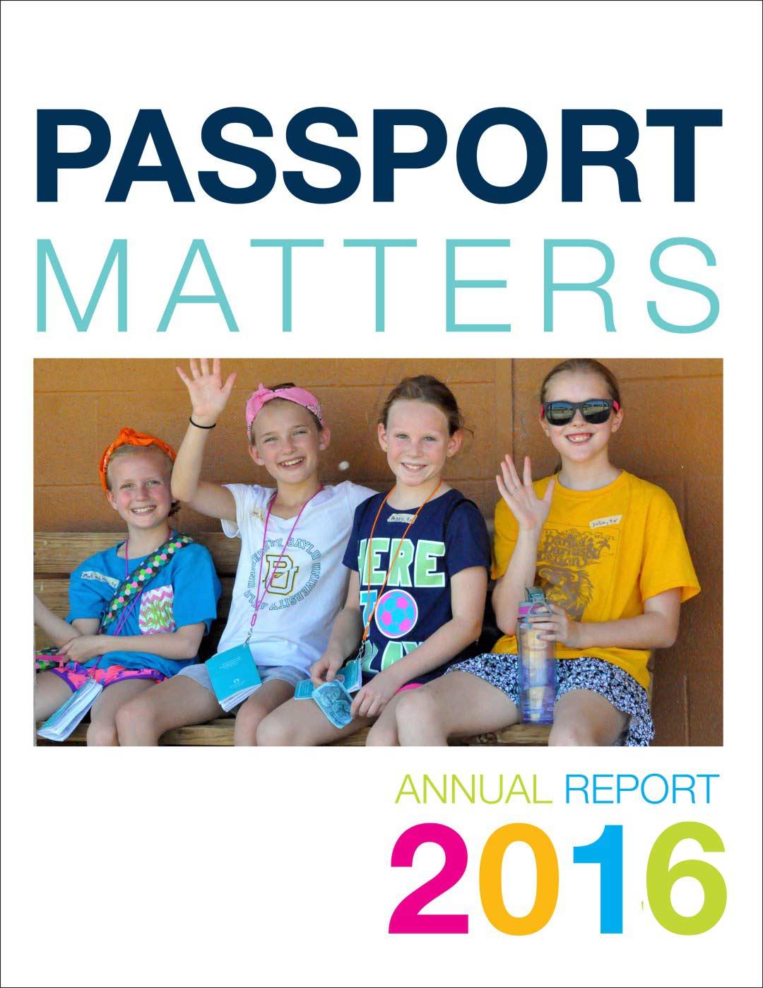PASSPORT 2014 Annual Report