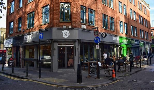 Caravan coffee Clerkenwell