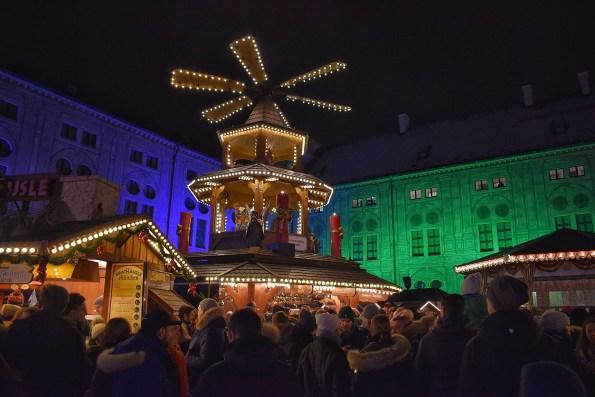 Christmas Village in the Munich Residenz