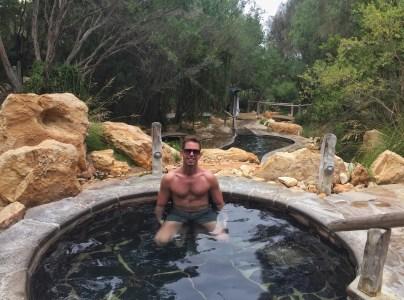 A bath at Peninsula Hot Springs