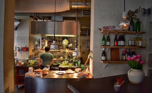 Kitchen at Hallmann & Klee Berlin