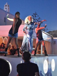 Drag show at Elysium, Mykonos