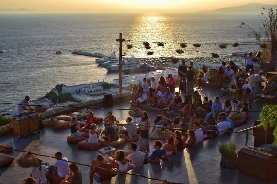 180 Sunset Bar, Mykonos