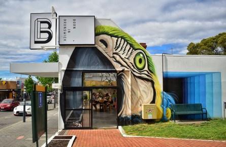 Born in Brunswick cafe, Hobart
