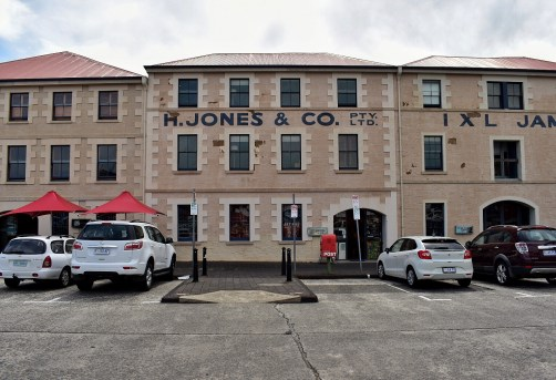 Historic buildings on Hunter Street, Hobart