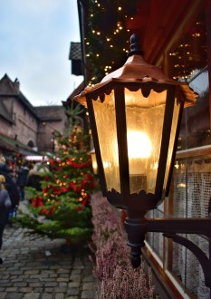 Lantern at the Nuremberg Christmas market