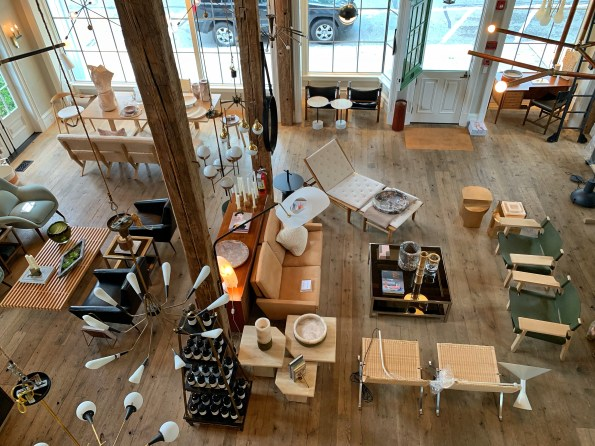 Furniture and homeware shop in Sag Harbour, the Hamptons