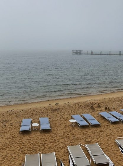 A beach in Montauk, Hamptons