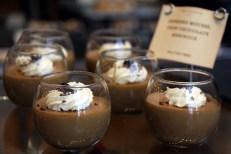 Espresso mousse with crisp chocolate meringue.