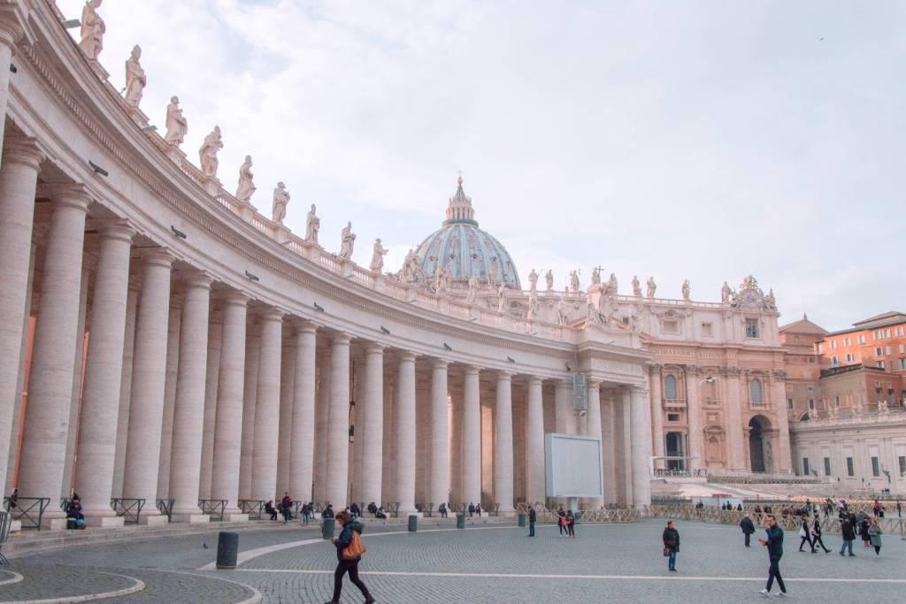 que ver en piazza San Pietro Roma