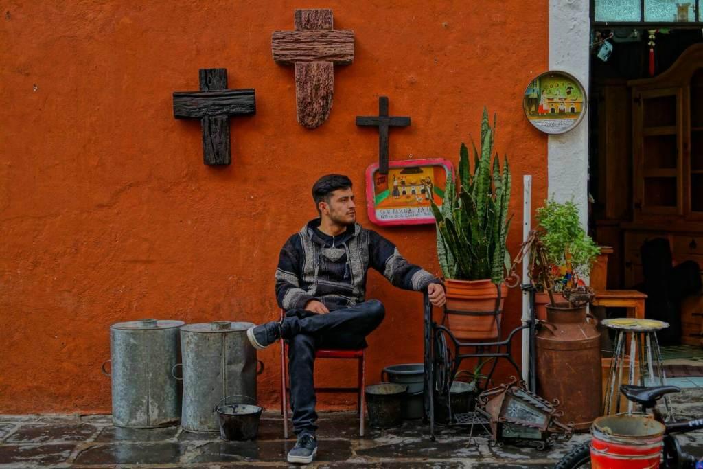 mercado de artesania puebla Mexico
