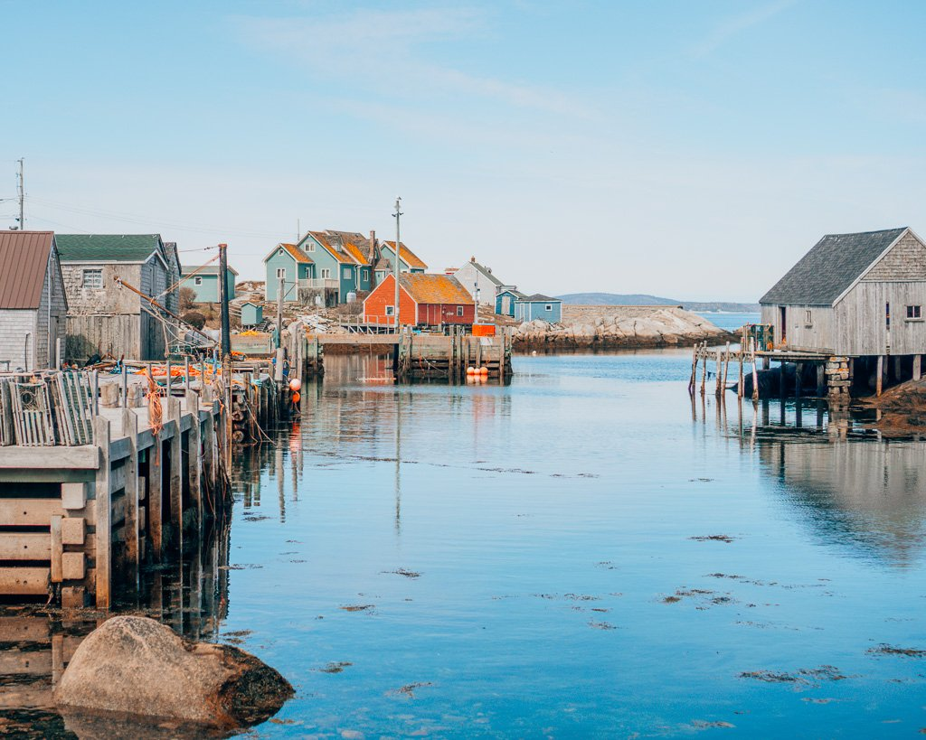 Town of Peggy's Cove, Canada