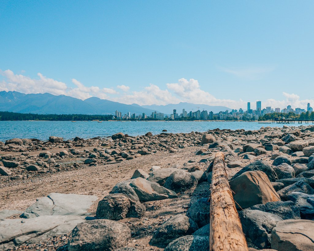 View of downtown Vancouver