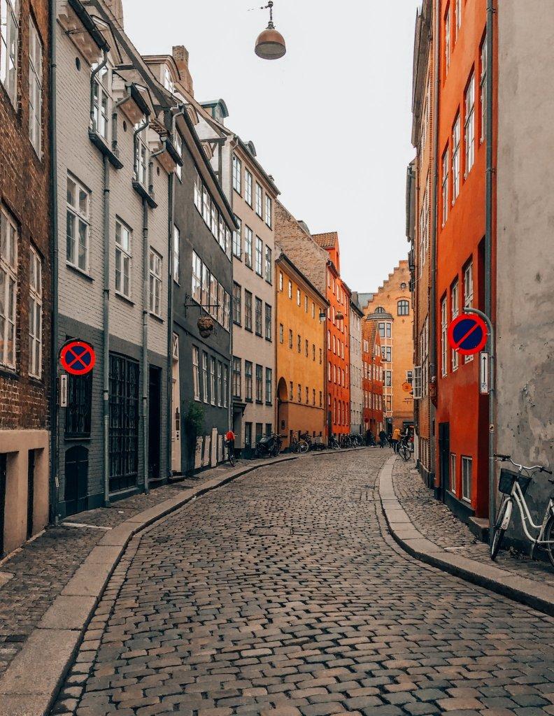 Oldest street in Copenhagen